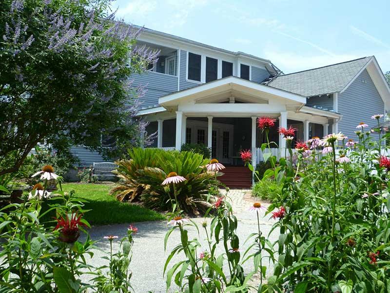 Back Porch | Americus Garden Inn BB, near Andersonville Historic Site