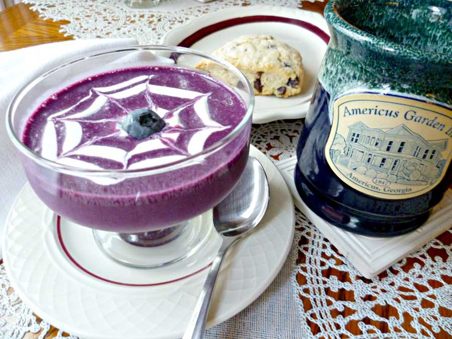 A Cold Soup for a Warm Day – Cold Blueberry Soup