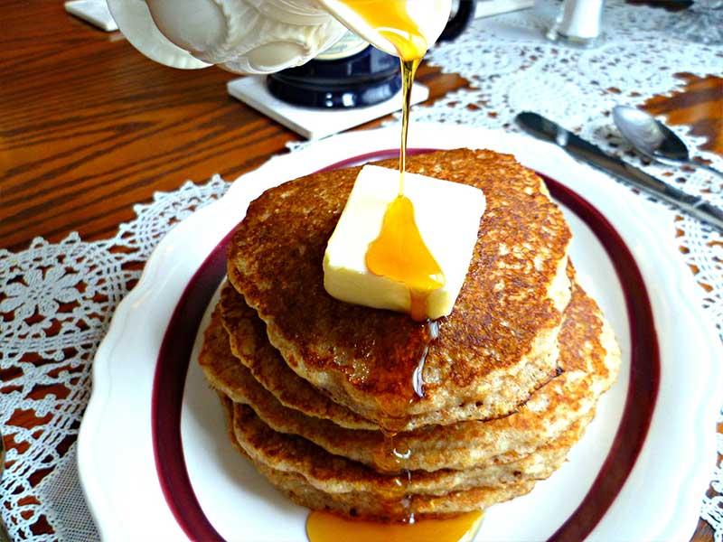 Pancakes | Americus Garden Inn Bed & Breakfast, Georgia