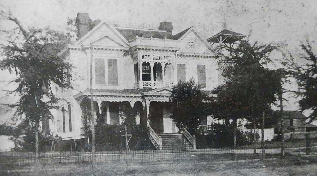 1894 Photo of Americus Garden Inn near Providence Canyon State Park