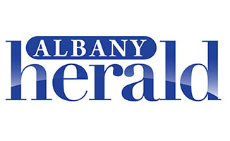 Albany Heral Logo close to Jimmy Carter National Historic Site