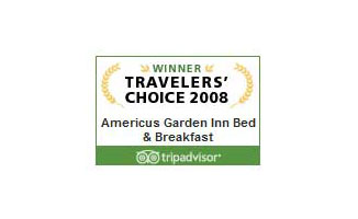 Tripadvisor 2008 Travelers' Choice | Americus Garden Inn near GSW