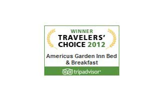Tripadvisor 2012 Travelers' Choice | Americus Garden Inn near GSW