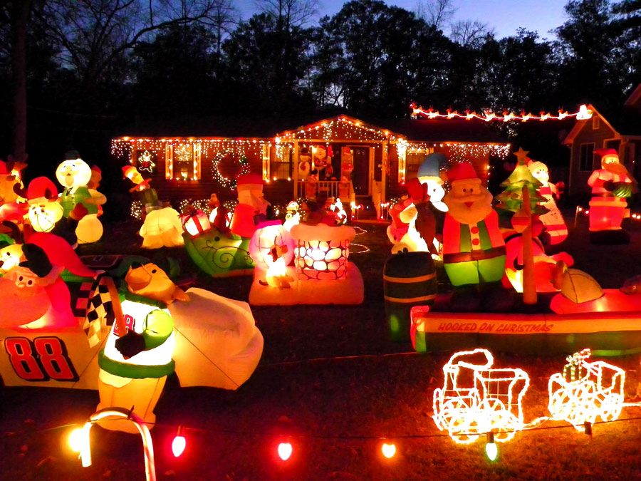Willet Way Wonderland in Americus, Georgia – A Christmas Tradition