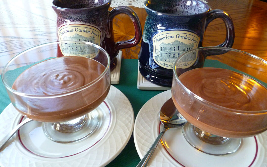Simple Chocolate Mousse for Two